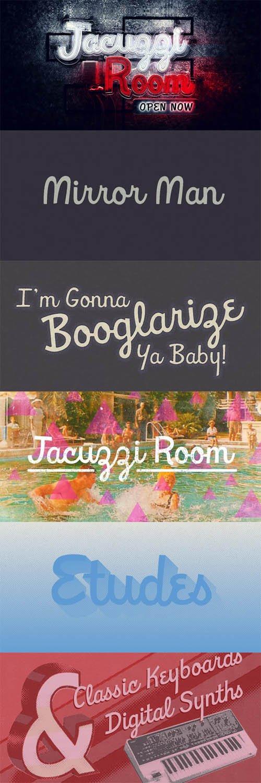 Font - Jacuzzi Room