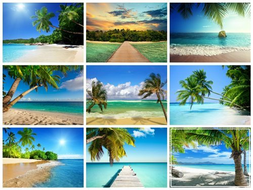60 Wallpapers with Tropical Islands