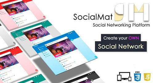 CodeCanyon - Social Networking Platform - SocialMat v1.3 - 11734904