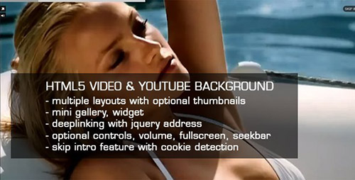 CodeCanyon - HTML5 Video & Youtube background v2.31 - 1555660