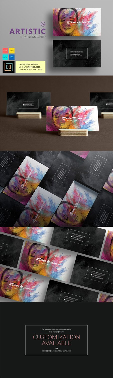 CM - Artistic - Business Card 84 474327