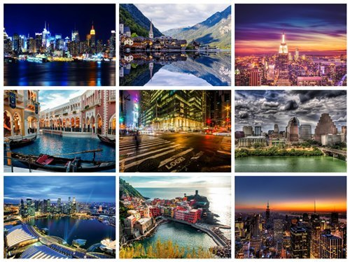 60 Beautiful Cityscapes HD Wallpapers 2
