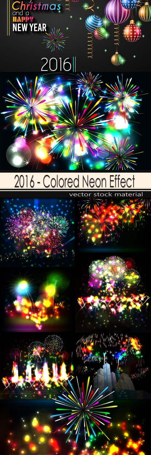 2016 - Colored Neon Effect