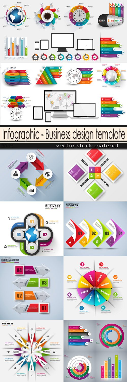Infographic - Business design template