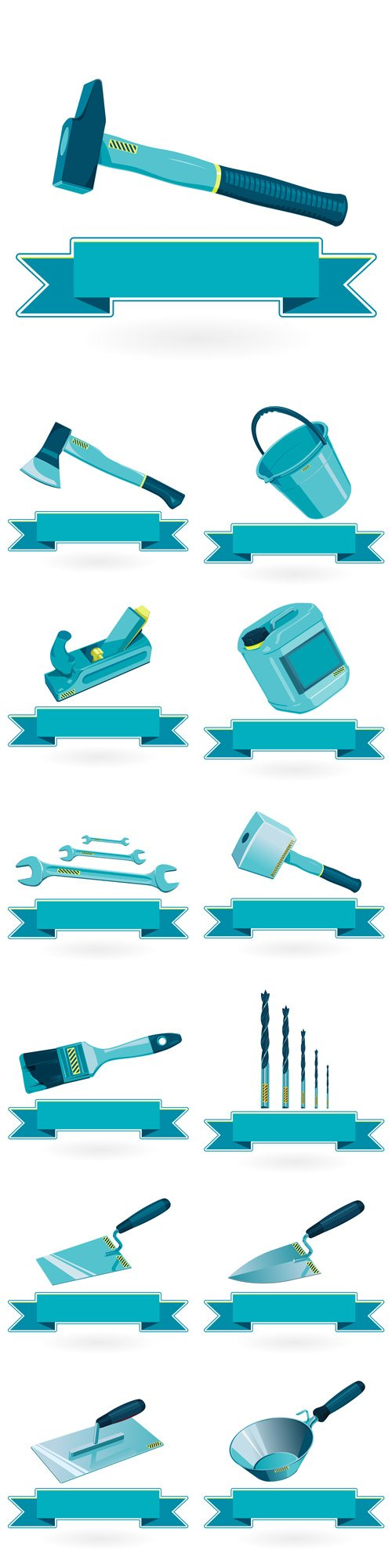 Construction Tools - Vectors