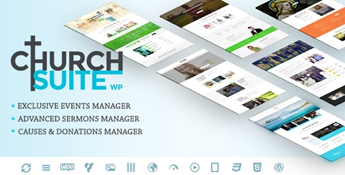 ThemeForest - Church Suite v1.0.7 - Responsive WordPress Theme - 11926115