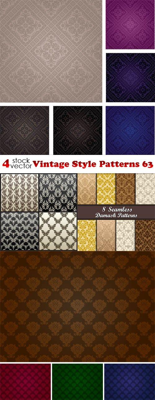 Vectors - Vintage Style Patterns 63