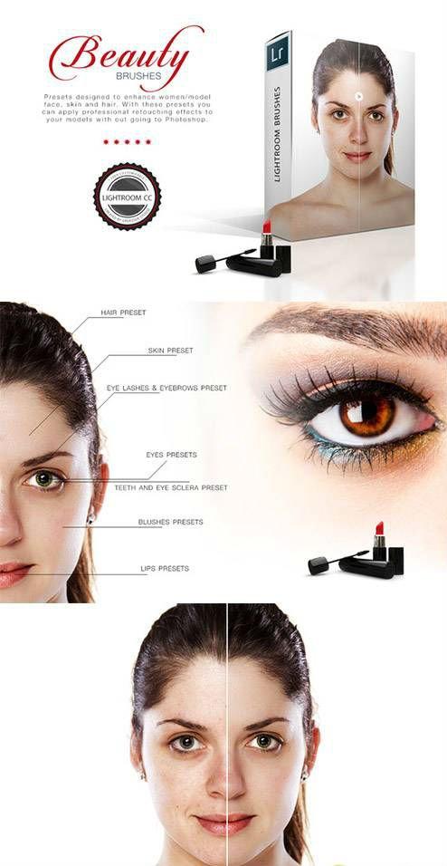 11 Lightroom Beauty Brushes 464379