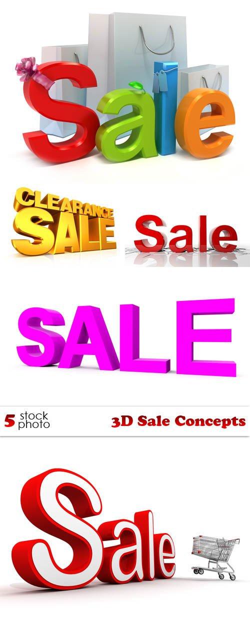 Photos - 3D Sale Concepts