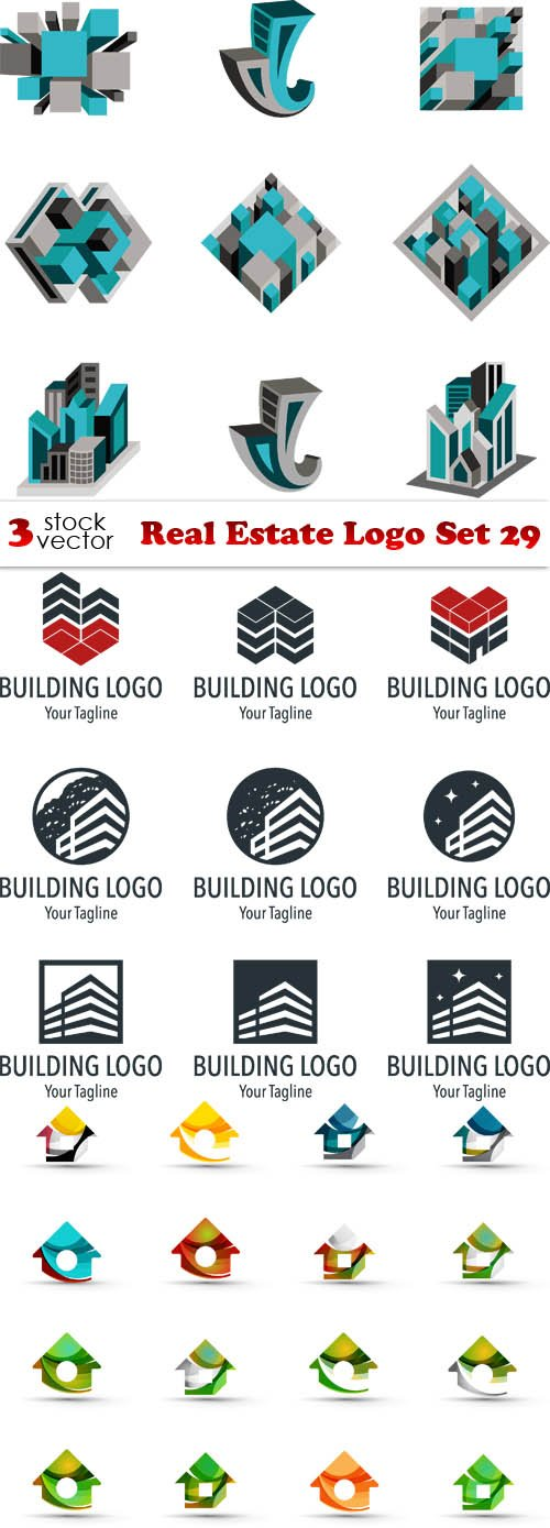 Vectors - Real Estate Logo Set 29