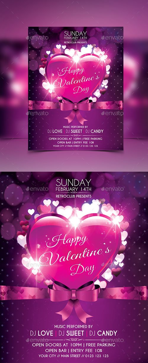 Valentine's Day Flyer 14401041