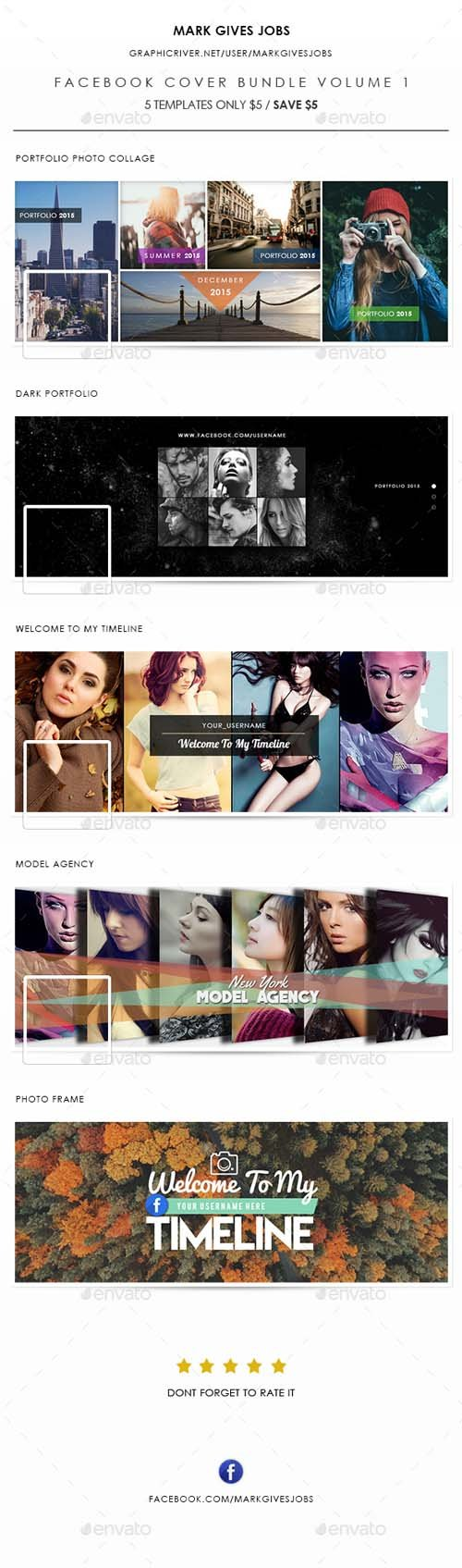 Facebook Cover Bundle Volume 1 14312232