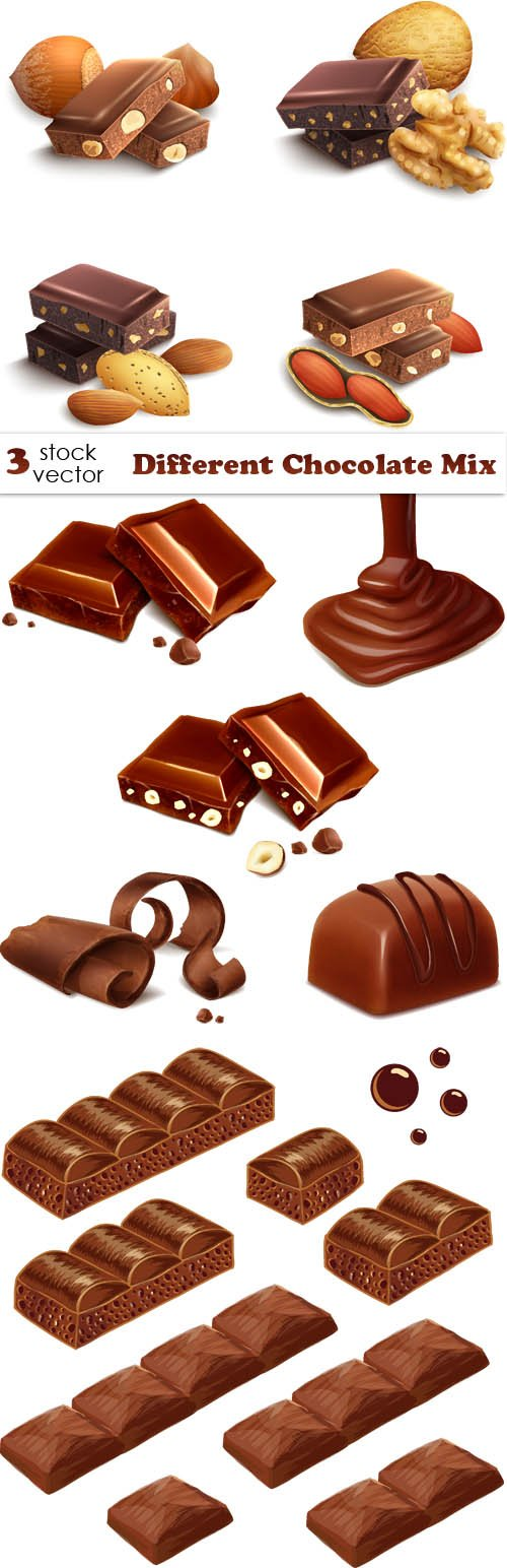 Vectors - Different Chocolate Mix