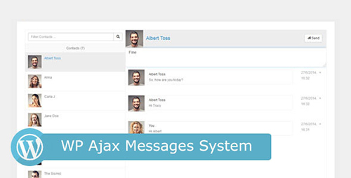 CodeCanyon - WP Ajax Messages System v1.0 - 8234050