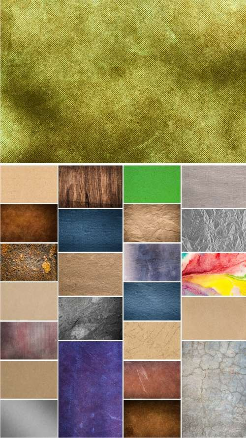 Paper, Stone, Denim fabrics, Old rusty, Wood texture, Concrete wall, metal texture background, 25xJP...