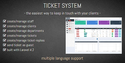 CodeCanyon - TICKET SYSTEM - Customer Support Software (Update: 5 October 15) - 12252728