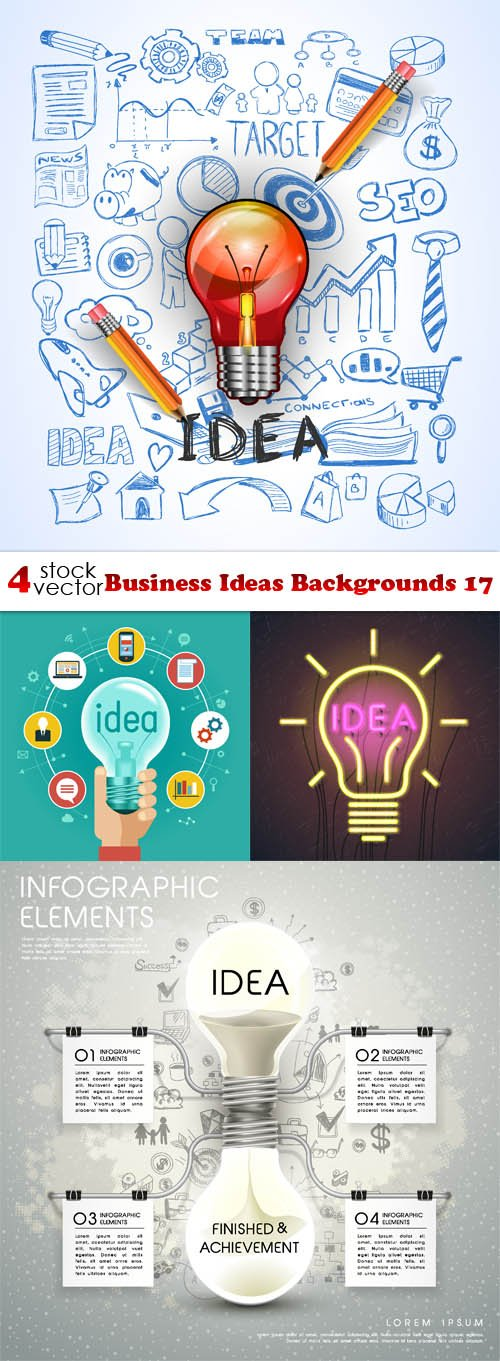 Vectors - Business Ideas Backgrounds 17
