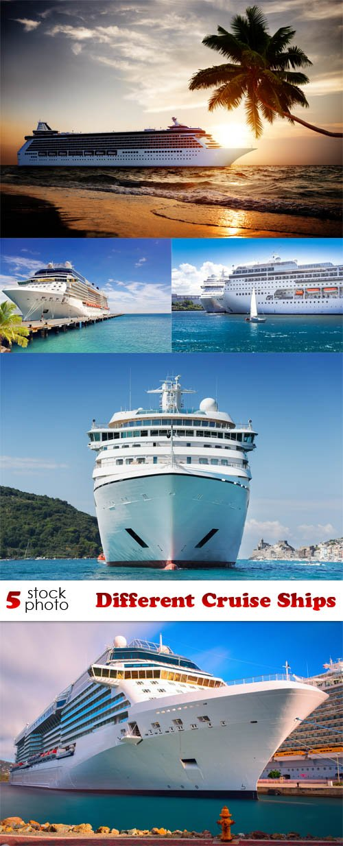 Photos - Different Cruise Ships