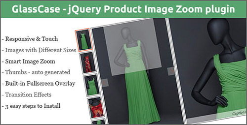 CodeCanyon - GlassCase v2.1 - jQuery Product Image Zoom plugin - 7843419