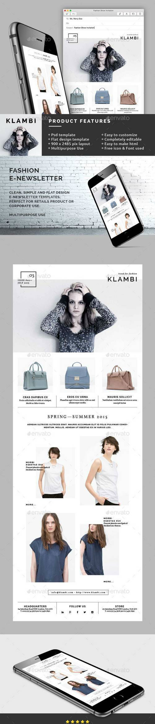 Fashion E-Newsletter 10945319 (Graphicriver)