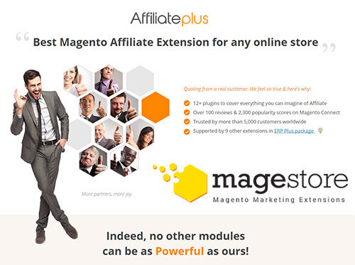 AffiliatePlus Platinum v2.2 - Best Magento Affiliate Extension for any online store