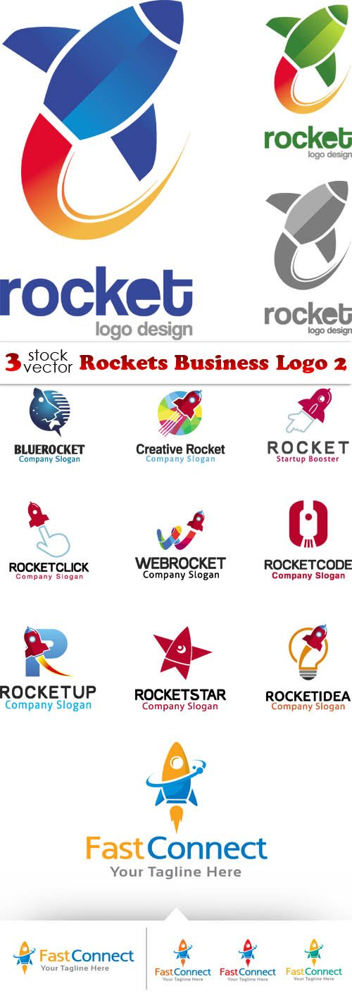 Vectors - Rockets Business Logo 2