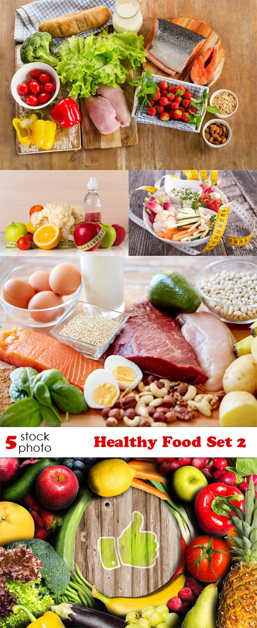 Photos - Healthy Food Set 2