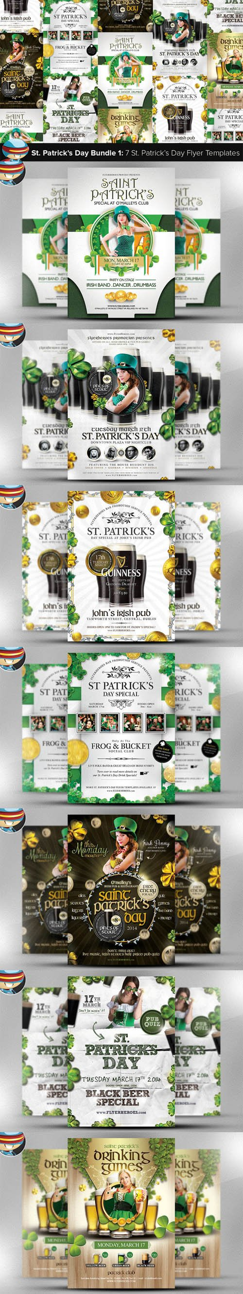 Saint Patrick's Day Bundle 1 - Creativemarket 202749