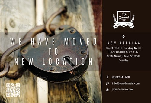 Office Relocation Or Advertisement - Creativemarket 164020