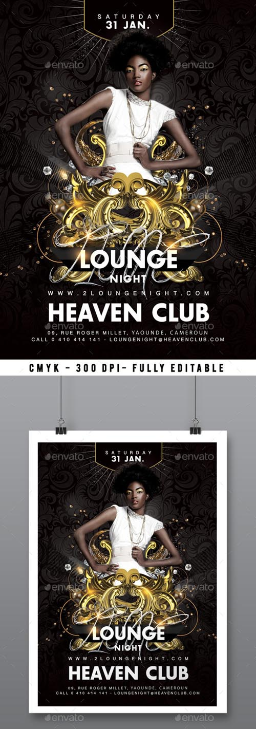 Lounge Party Flyer 14516276