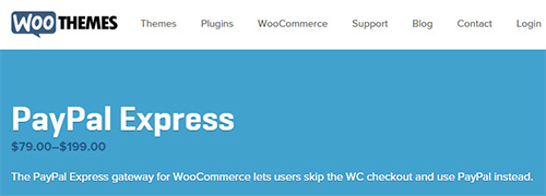 WooThemes - WooCommerce PayPal Express Gateway v3.6.0