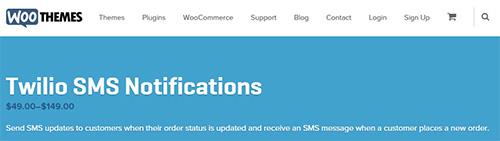WooThemes - WooCommerce Twilio SMS Notifications v1.7.0