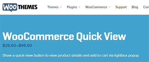 WooThemes - WooCommerce Quick View v1.1.5