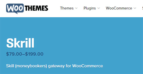 WooThemes - WooCommerce Skrill v1.5.0