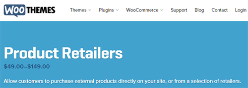 WooThemes - WooCommerce Product Retailers v1.7.0