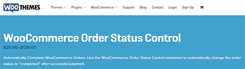 WooThemes - WooCommerce Order Status Control v1.5.0