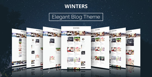 ThemeForest - Winters v1.4.3 - A Responsive Wordpress Blog Theme - 11012757
