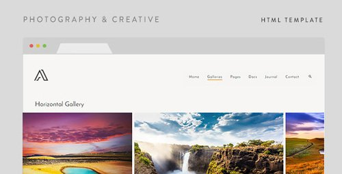 ThemeForest - Airy v1.5 - Photography & Creative HTML Template 11252959