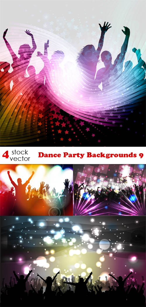 Vectors - Dance Party Backgrounds 9