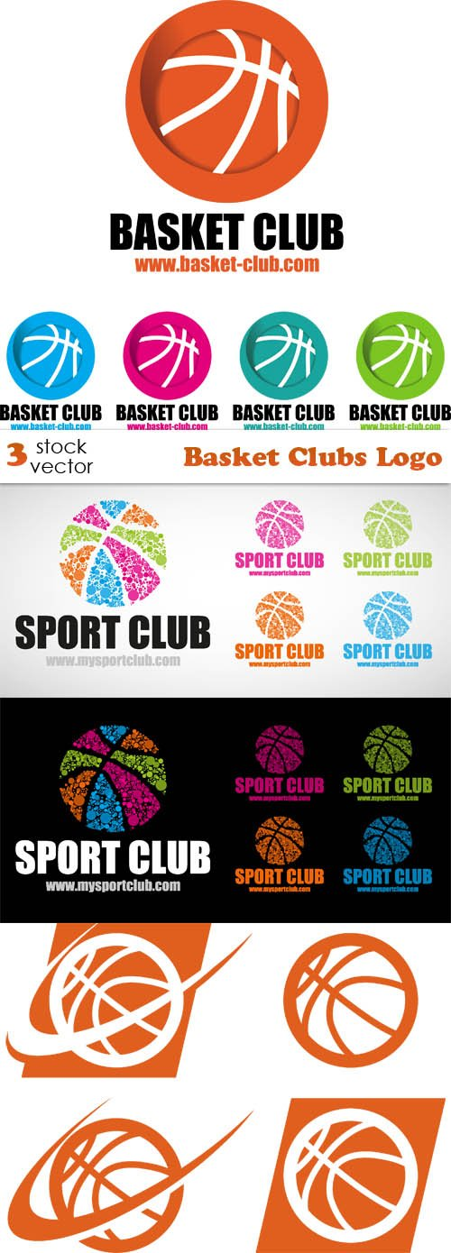 Vectors - Basket Clubs Logo