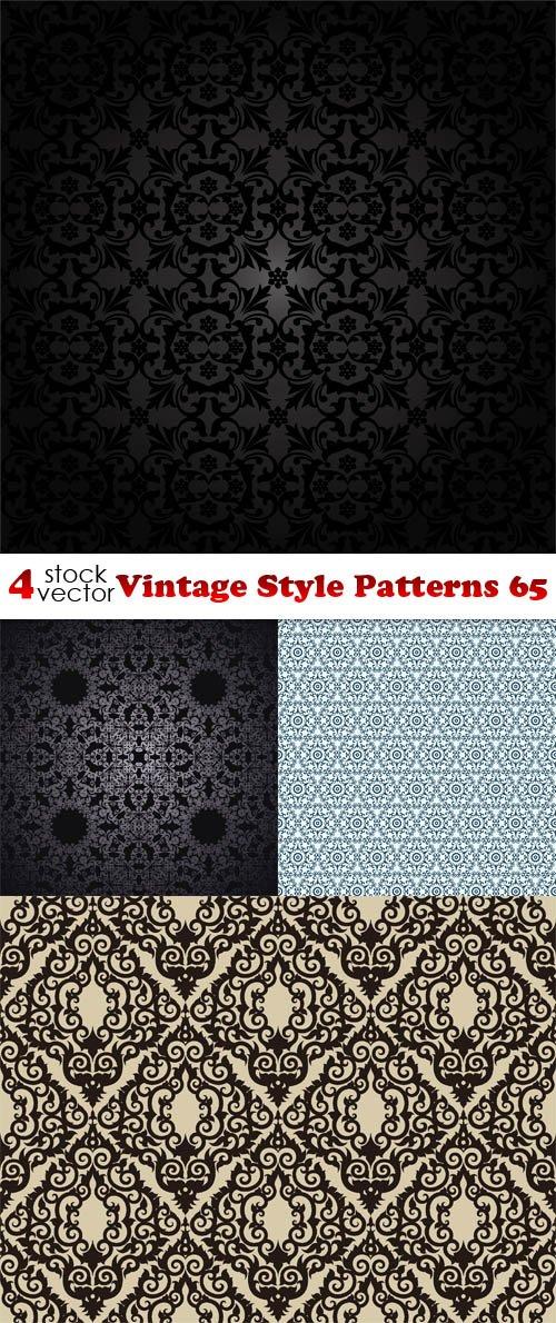 Vectors - Vintage Style Patterns 65