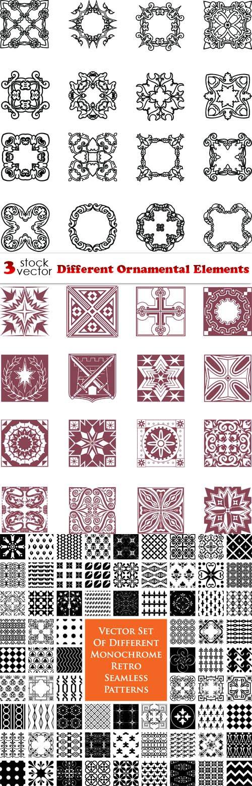 Vectors - Different Ornamental Elements