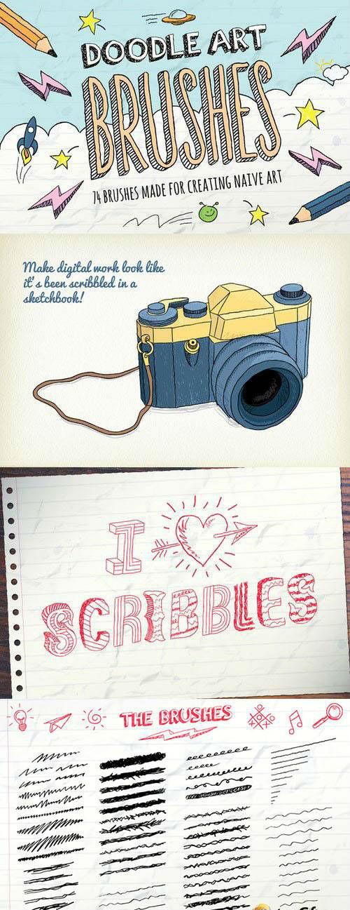 Doodle Brushes 516781