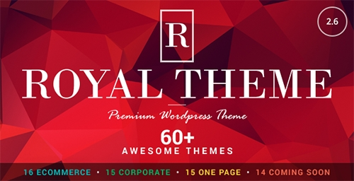 ThemeForest - Royal v2.6 - Multi-Purpose Wordpress Theme - 8611976