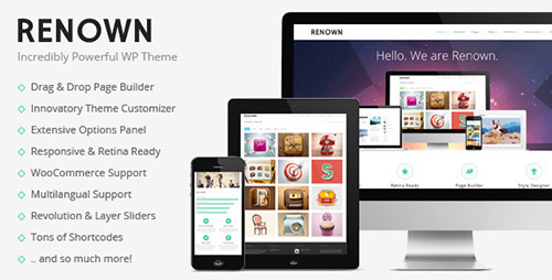ThemeForest - Renown v1.0.4 - Responsive Multi-Purpose Theme - 7595352