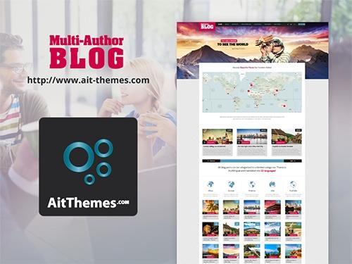 Ait-Themes - Multi-Author Blog v1.42 - WordPress Blog Theme