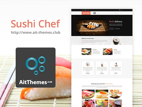 Ait-Themes - Sushi v1.57 - Food Delivery WordPress Theme
