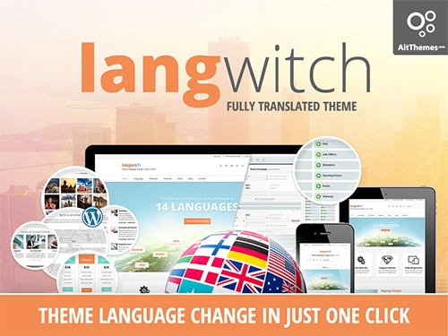 Ait-Themes - Langwitch v1.75 - Responsive Multi-Purpose WordPress Theme