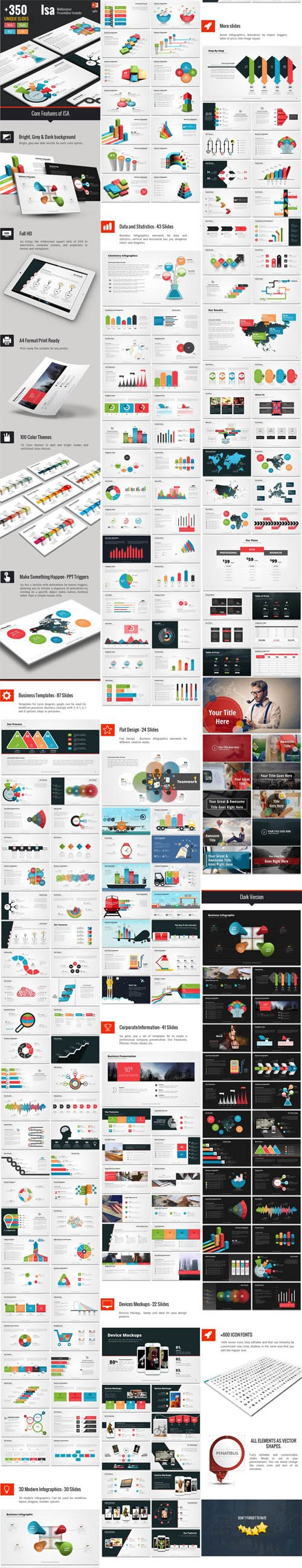 GraphicRiver - Isa - Multipurpose Powerpoint Template 14294670