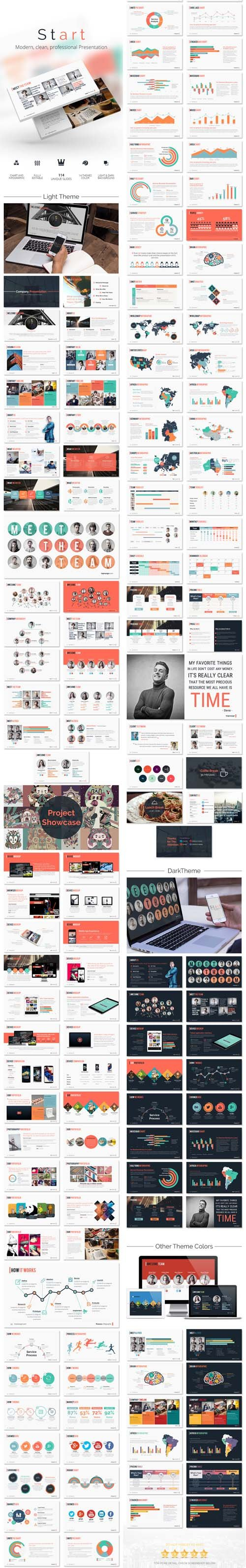 GraphicRiver - START Keynote - Modern Clean Presentation 14222084